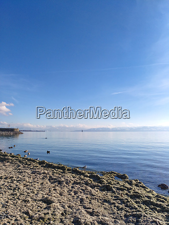 a sunny day at lake constance