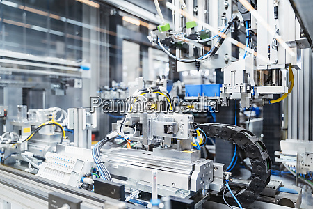 intricate, machinery, inside, modern, factory, , stuttgart, - 27361275