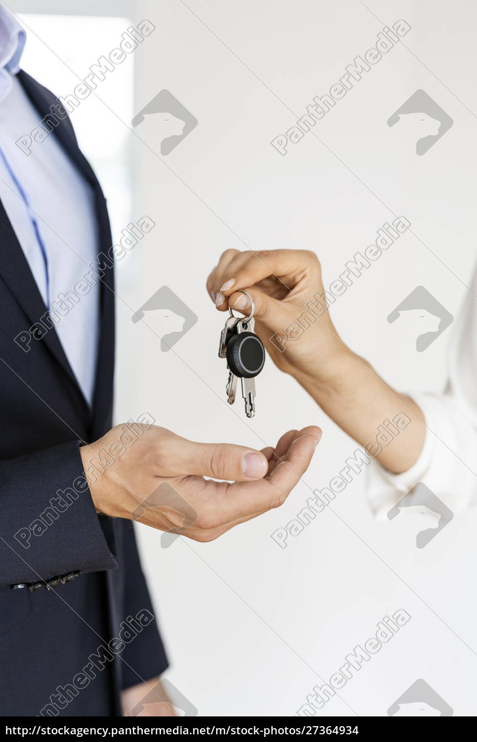 close-up, of, real, estate, agent, handing - 27364934