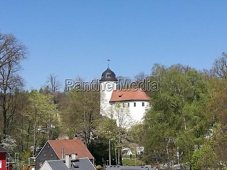 medieval castle in chemnitz in saxony