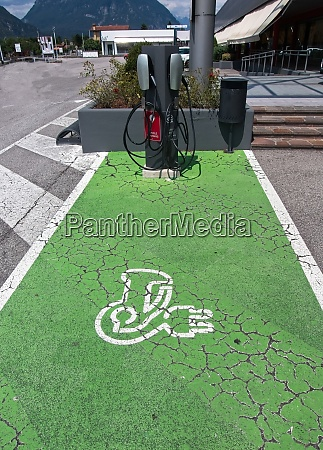 electric vehicle ev charging station parking