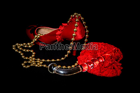 erotic and vibrator an lingerie