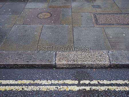 wet pavement background