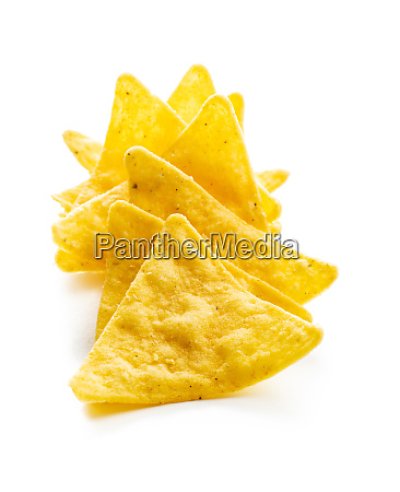 corn nacho chips yellow tortilla chips