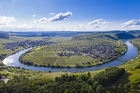the moselle at trittenheim moselle valley