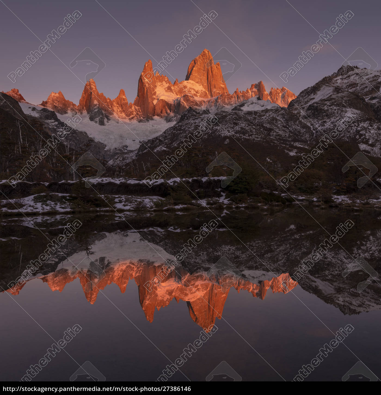 the, mountain, range, with, cerro, fitz - 27386146