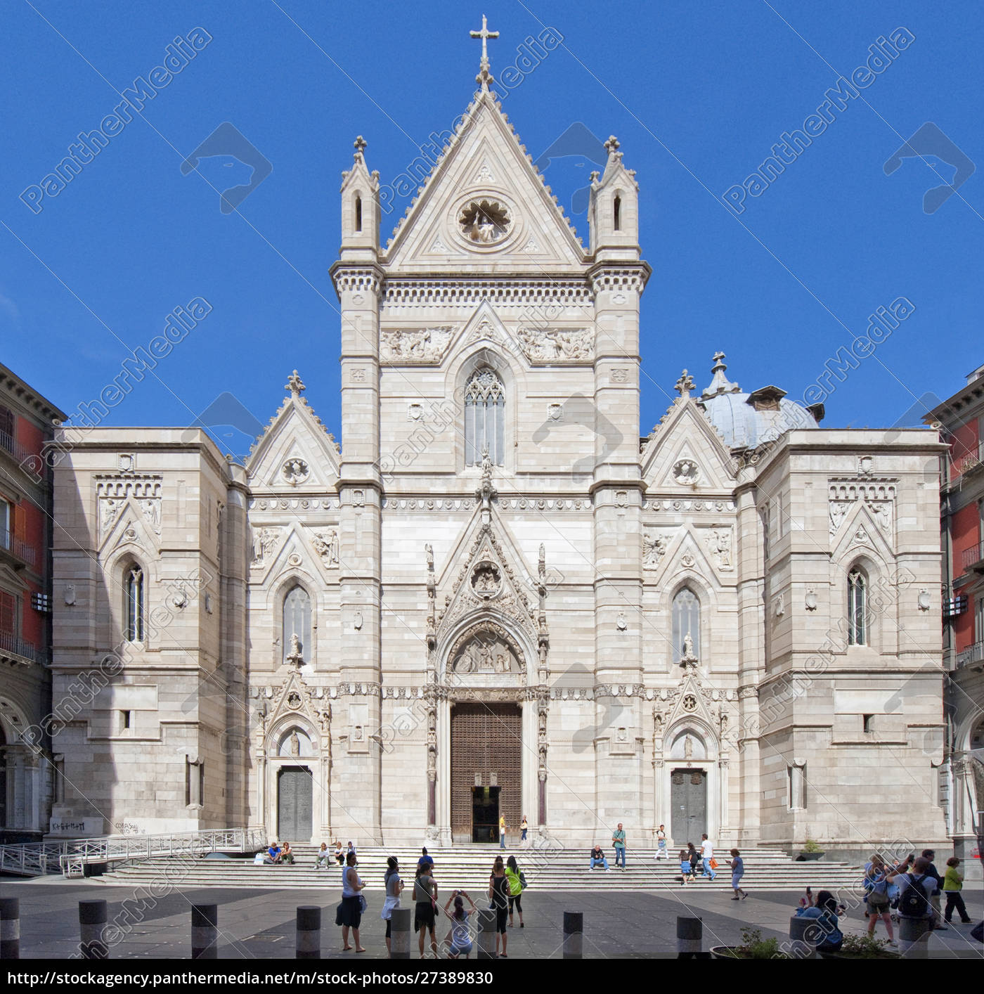 duomo, (cathedral), of, naples, , campania, , italy, - 27389830