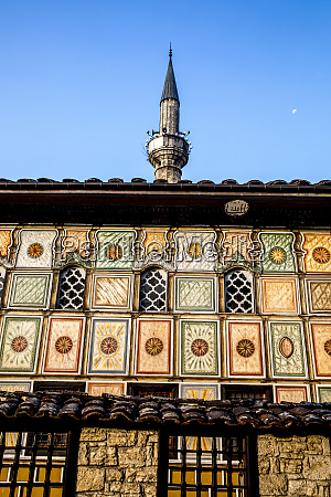 pasha mosque the painted mosque of