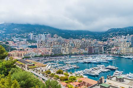a view over the monte carlo
