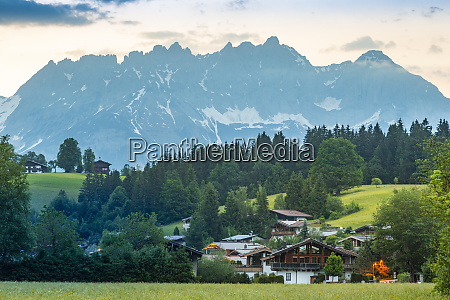view of reith bei kitzbuhel and