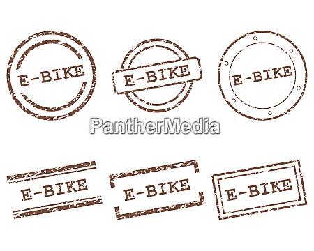 e bike stamps