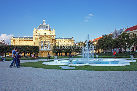 art pavilion in zagreb croatia