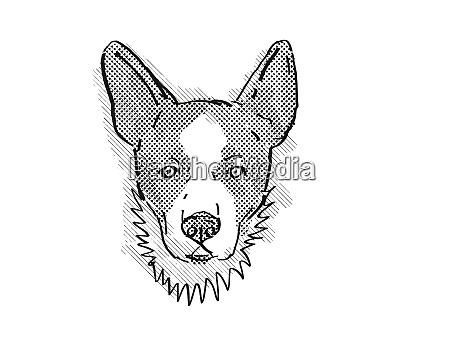 cardigan welsh corgi dog breed cartoon
