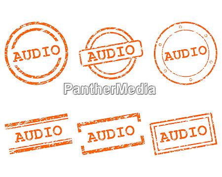 audio stamps