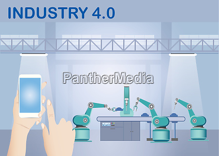 industry 40 smart factory wireless connection