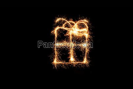 christmas parcel fireworks