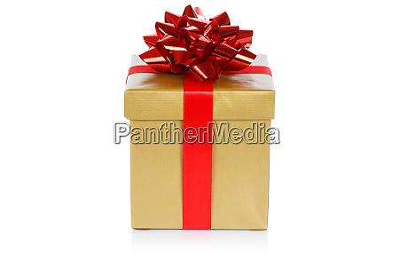 christmas present birthday gift gold golden