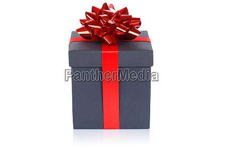 christmas present birthday gift black box