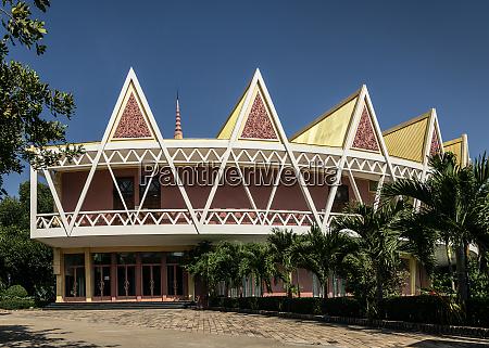 chaktomuk conference hall architecture landmark building