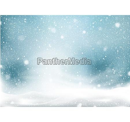 winter snow storm background