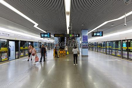 shanghai hongqiao railway mrt metro station