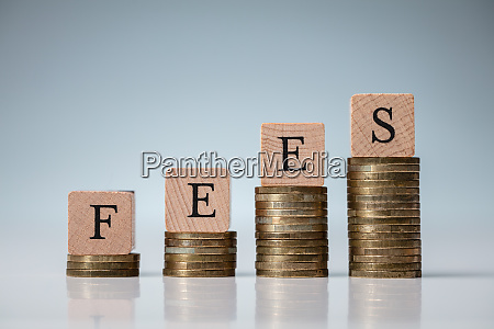 fees on increasing coins stacks