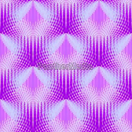 regular seamless triangles pattern pink violet