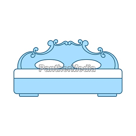 king size bed icon