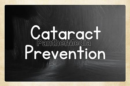 cataract prevention