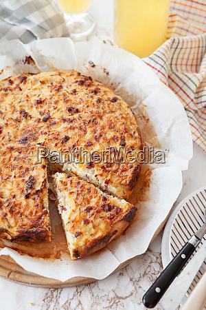 homemade onion cake