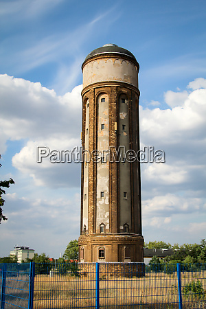 an old water tower to supply