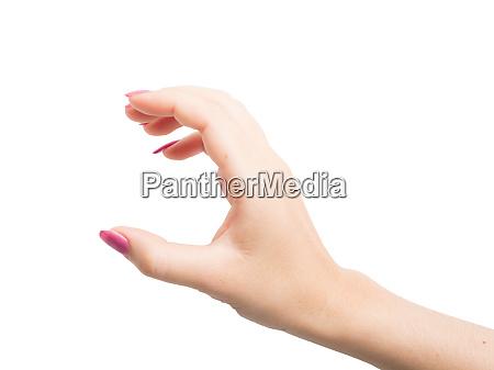 woman hands gestures