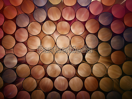 abstract brown colorful background of stack