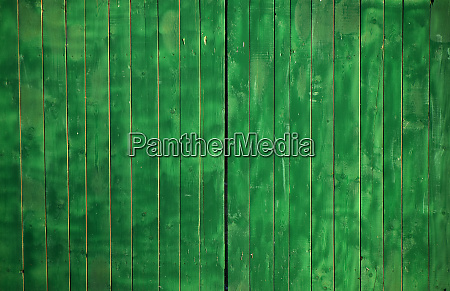 green vintage painted wooden panel background