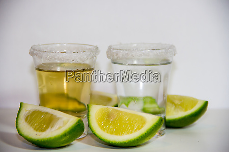 tequila glasses typical drink of mexico