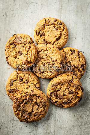 sweet biscuits chocolate cookies