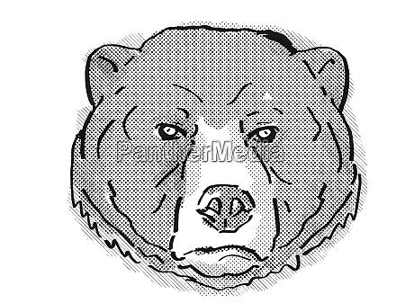 sun bear or helarctos malayanus endangered
