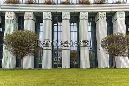 modern building of supreme court of