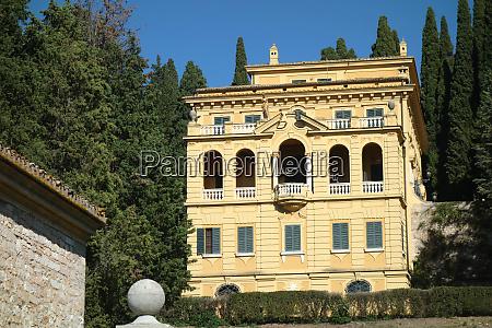 villa fidelia o costanzi in spello