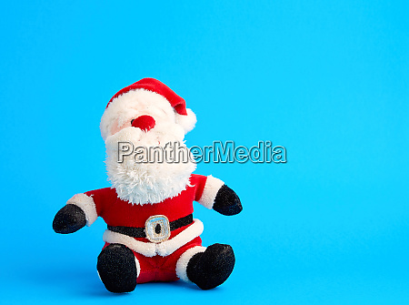 traditional toy santa claus in a