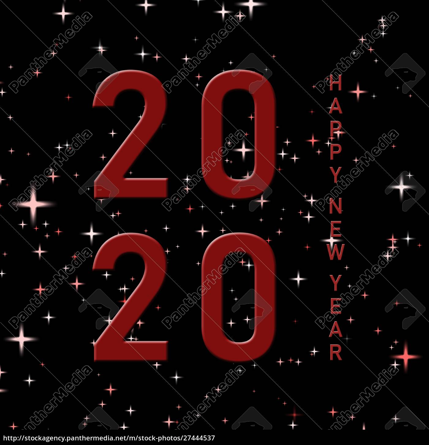 year, change, 2020, with, lettering, happy - 27444537