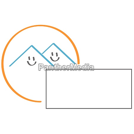smile two houses real estate houses