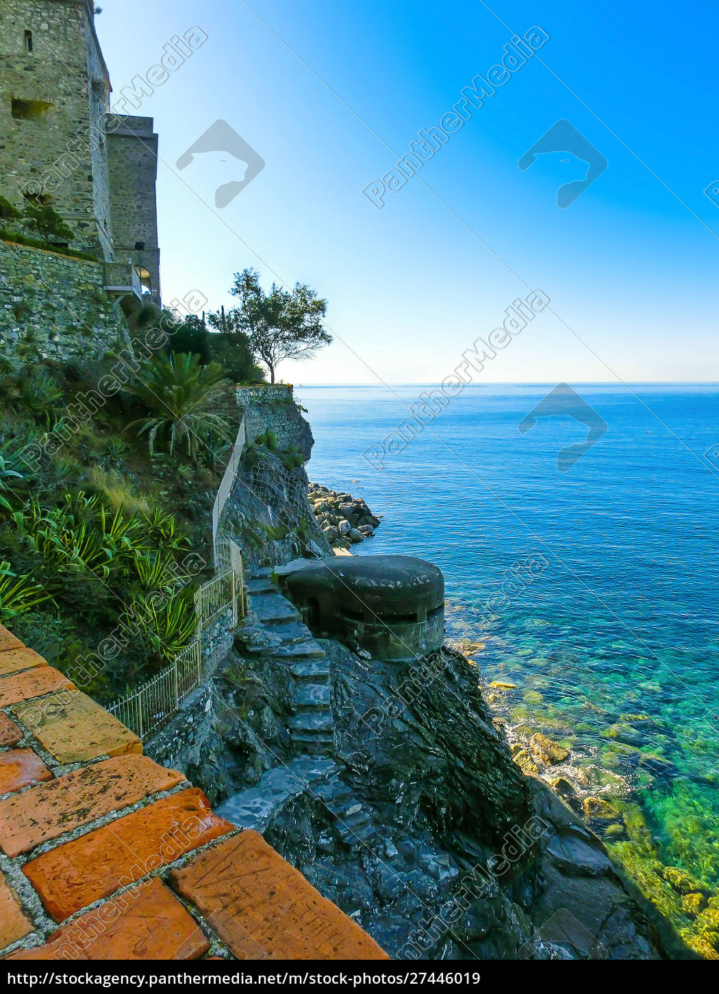 stone, fortifications, of, monterosso, al, mare, - 27446019
