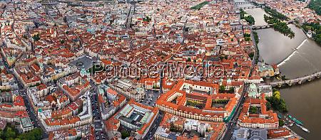 aerial view of namsti svornosti old