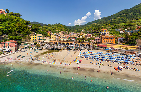 aerial view of monterosso al mare