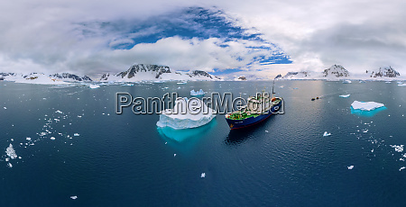 aerial view polar pioneer a scientific
