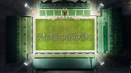 aerial view of the sevens stadium