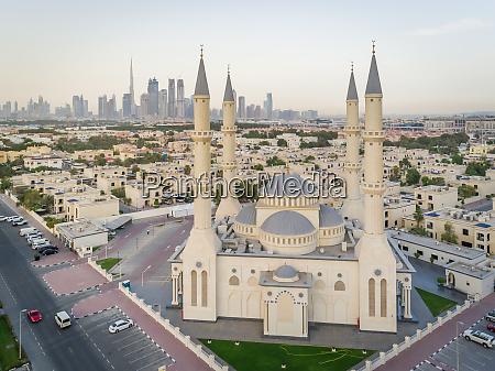 aerial view of al farooq omar