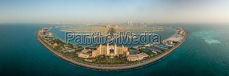 aerial panoramic view of aquaventure and