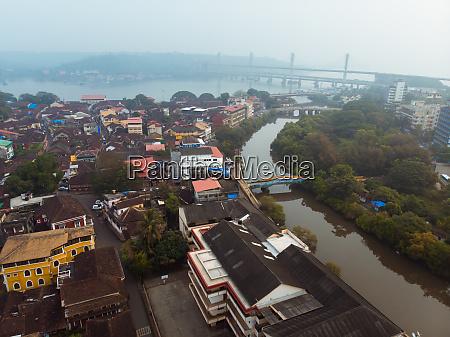 aerial view of altinho neighbourhood in